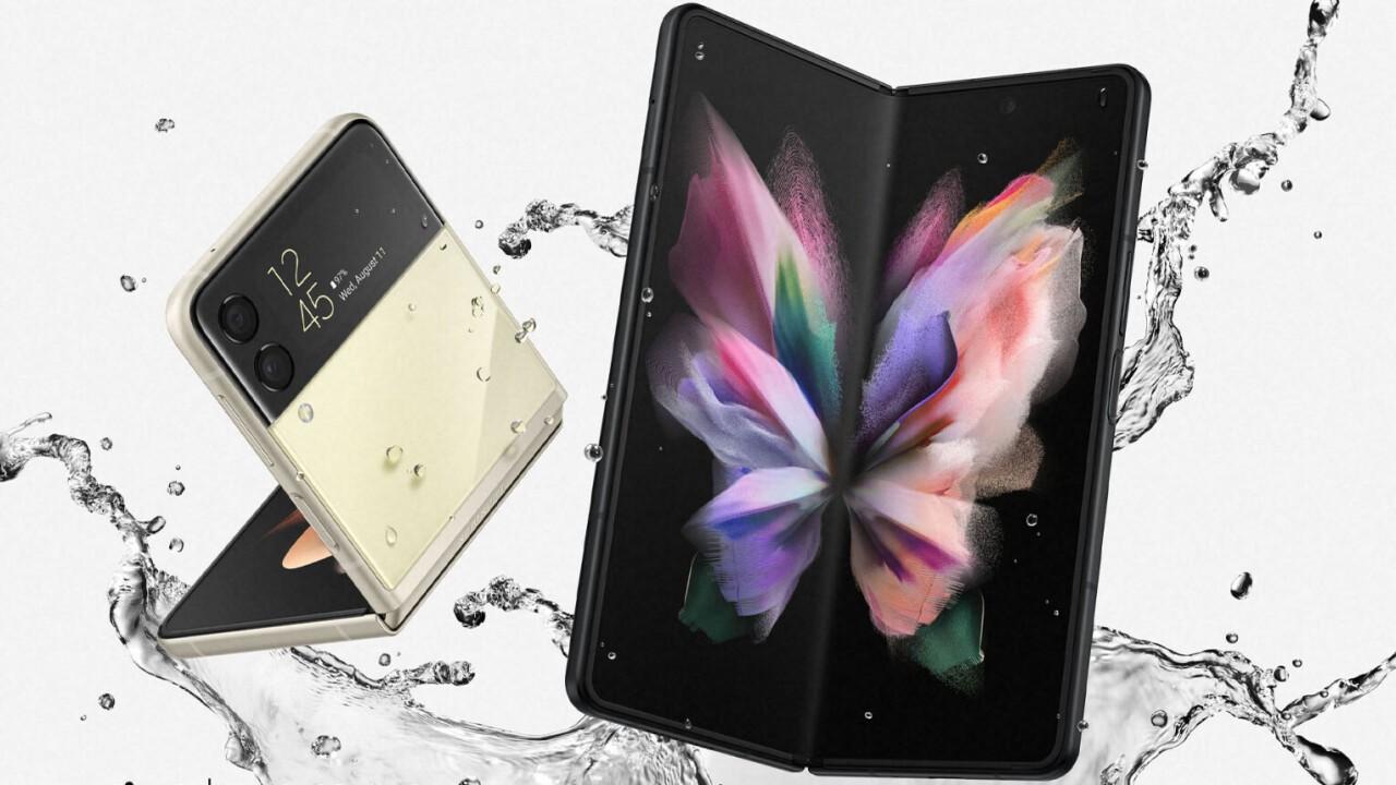 Noile telefoane pliabile Samsung, dar nu numai...