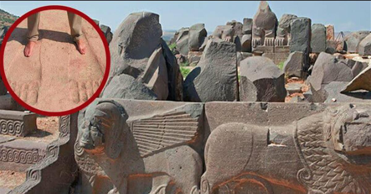 Misterul urmelor imense descoperite la ruinele templului Ain Dara