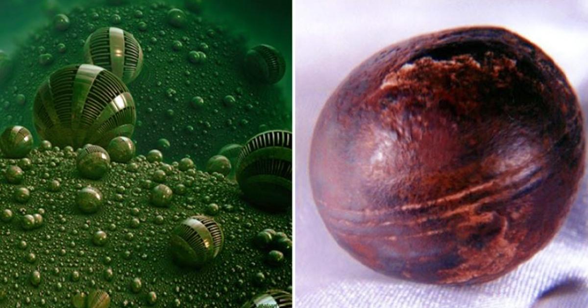 Obiecte sferice vechi de 2.8 miliarde de ani!